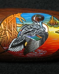 Boonducker Brands engraved and handpainted calls - pintail - heritage calls gift shop